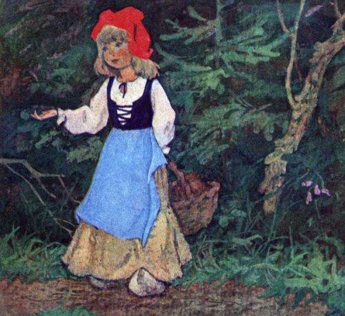 Красная шапочка сказка для детей с