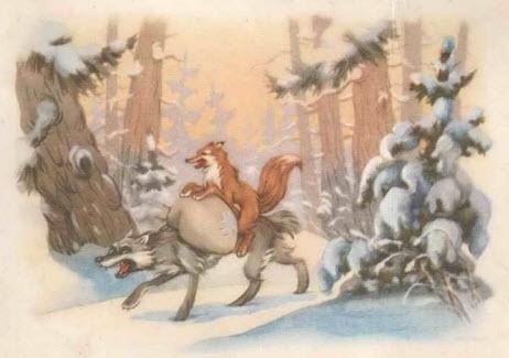 Мультфильм Диакниги - Лисичка-сестричка и серый волк