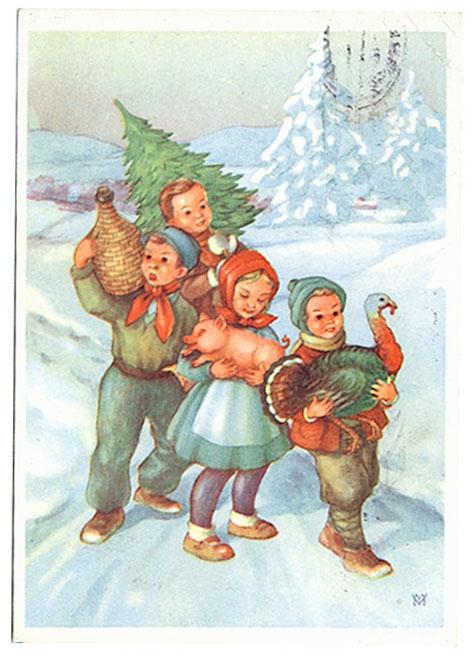 знакомство детей и родителей с новым годом