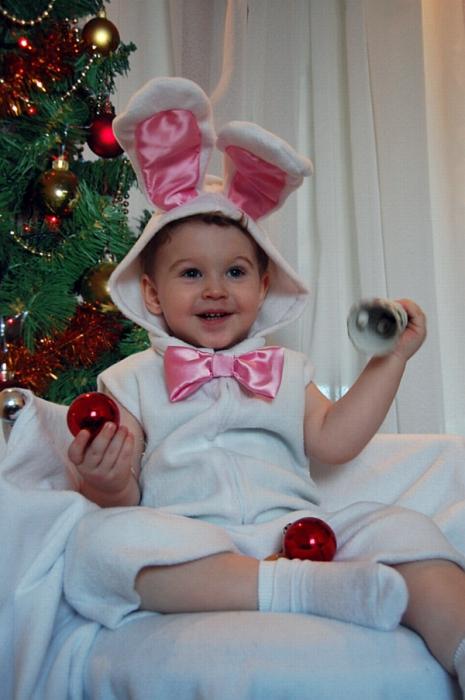 Костюм малышу на новый год своими руками