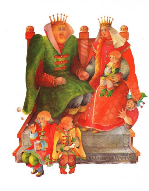 Подземные царства русская народная сказка в картинках 13