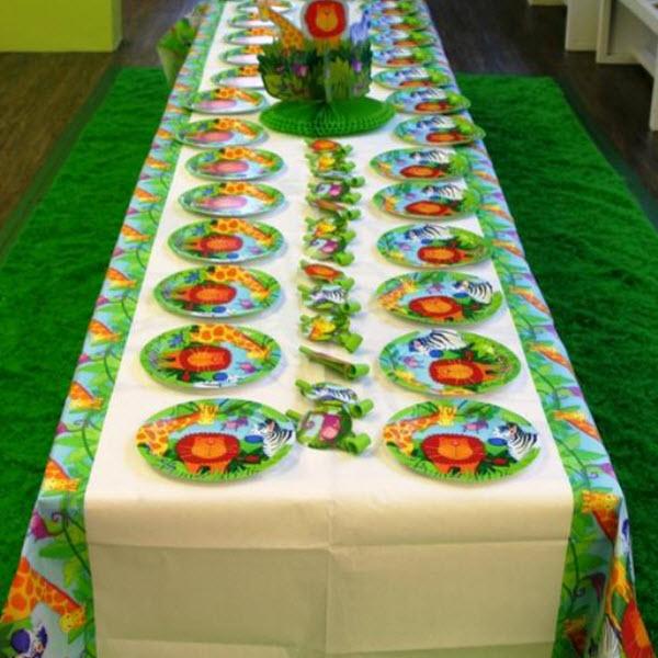 Оформление стола для детского дня рождения своими руками