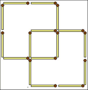 Три квадрата.