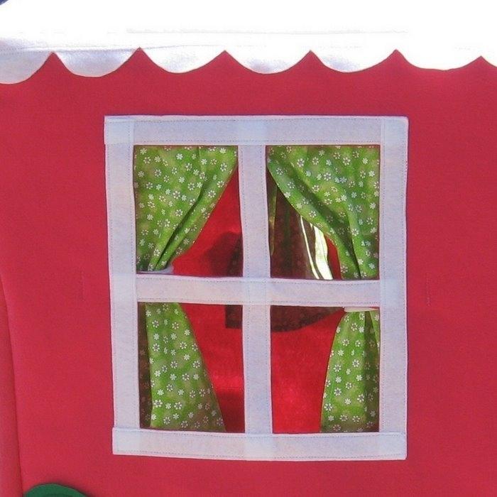 Домики для детей из ткани своими руками
