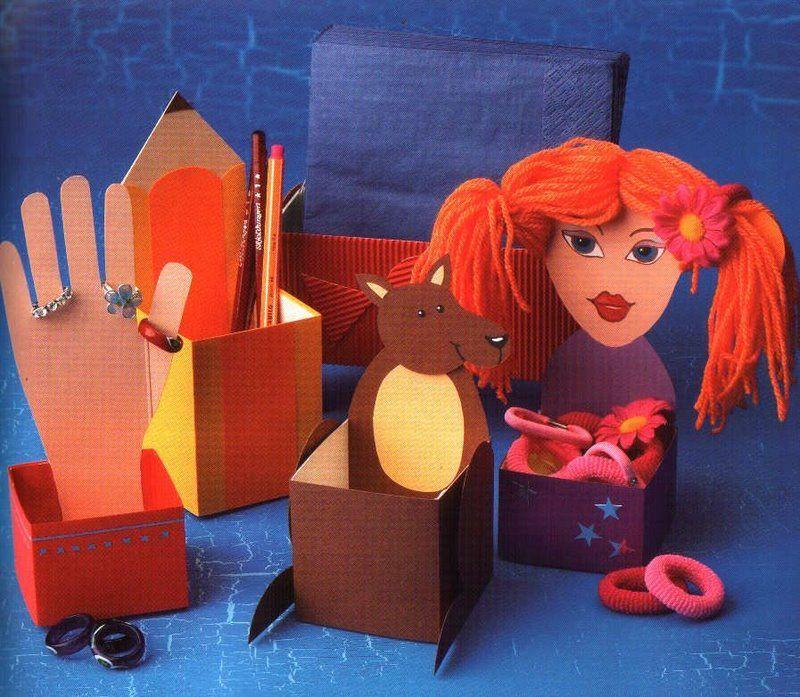 Поделки для ребенка своими руками из подручных материалов 70