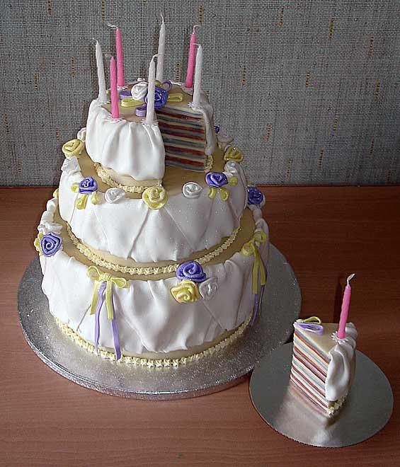 Торты на день рождения детям фото