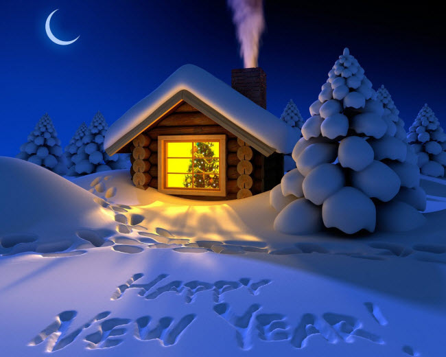 Новогодние картинки для детей