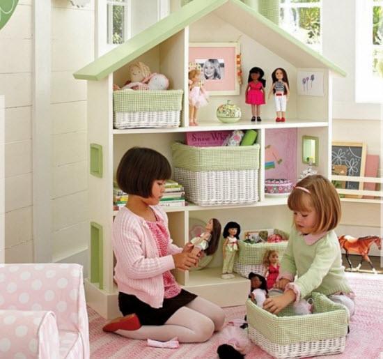 Как сделать комнату для игрушек своими руками