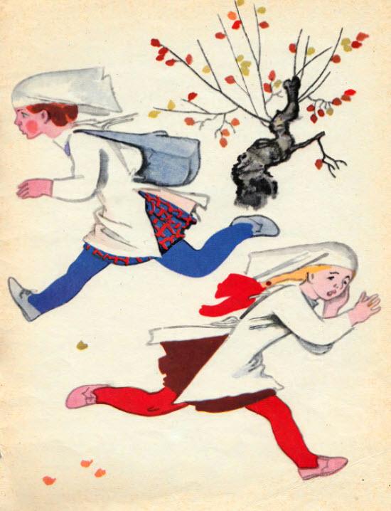 Морозко сказка с картинками русская народная сказка 13