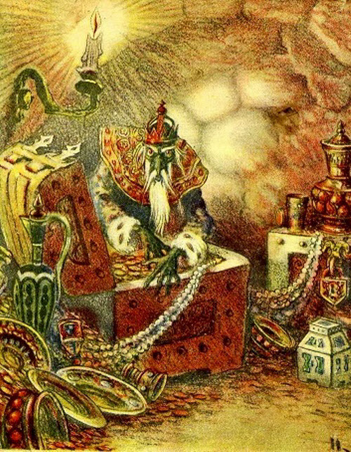 Русская народная сказка морской царь и василиса премудрая с картинками