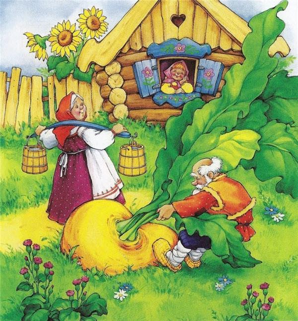 Сказки с большими и красочными картинками для детей.