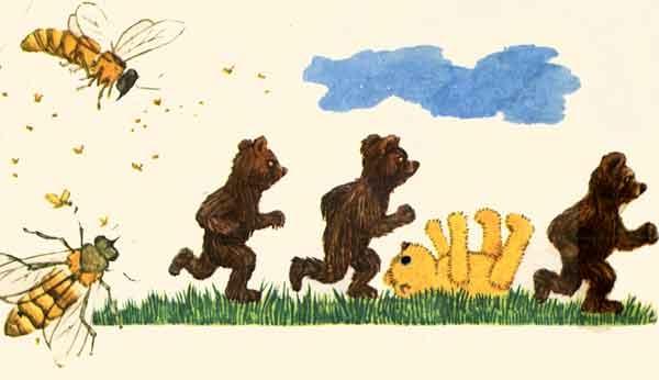 вам картинки к подвижной игре медведь и пчелы или