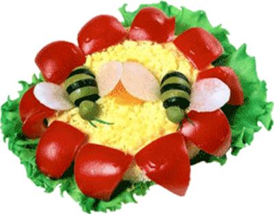 Украшения блюда на детский день рождения фото