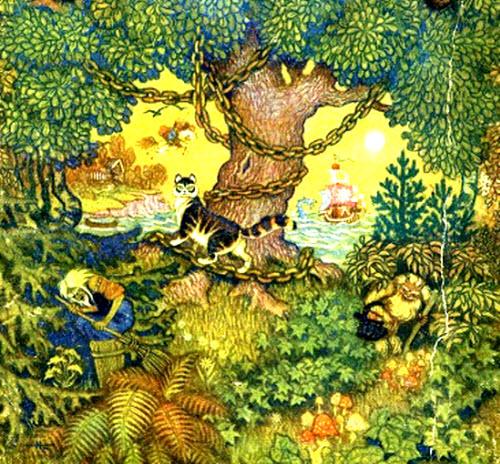 """""""У лукоморья дуб зелёный"""" А.С.Пушкин » Сайт для детей и ..."""