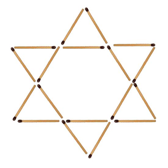 рисунок из спичек звезда хочу поздравить первоклассников