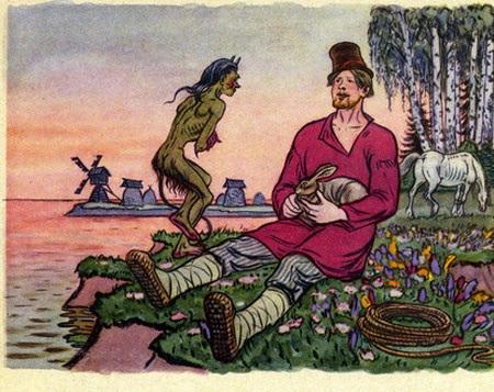Балда картинки а с пушкин
